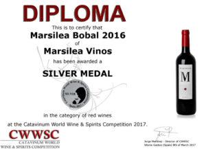 Diploma Bobal 2016